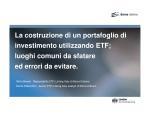 ETF - Borsa Italiana