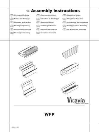 Assembly instructions WFP