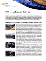 CINA - Le scale celesti degli Hani