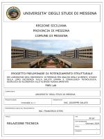 relazione tecnica - Università degli Studi di Messina