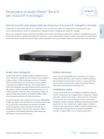 Dispositivo di analisi Rialto™ Serie R per moduli IP e analogici
