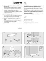 D Montageplan für U-Sockel an Einbau- und Vollintegrierte