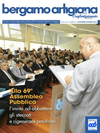 Bergamo Artigiana - settembre-ottobre 2014