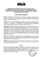 "Avviso Incarichi Posizioni Organizzative - ""Garibaldi"""