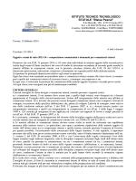 ISTITUTO TECNICO TECNOLOGICO STATALE