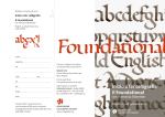 Inizio a far calligrafia Il Foundational