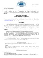 BANDO AVVISO CPS INFERMIERE 2014