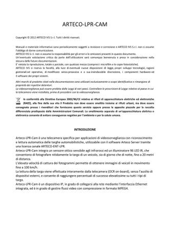 ARTECO-LPR-CAM