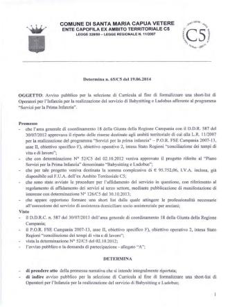 Avviso.PDF - Comune di Santa Maria Capua Vetere