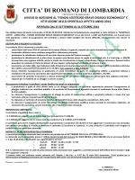 Locandina fsa 2014 - Comune di Romano di Lombardia