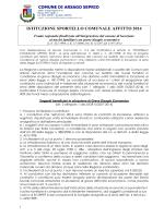 FSA 2014 BANDO - Comune di Arsago Seprio