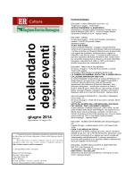 giugno 2014 - Regione Emilia
