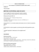 Programma e curricula docenti