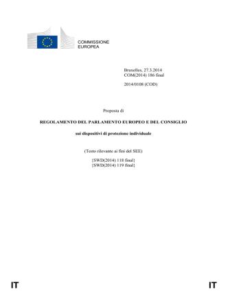 COMMISSIONE EUROPEA Bruxelles, 27.3.2014 COM(2014