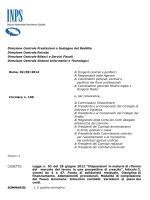 Inps – Circolare N. 100/2014