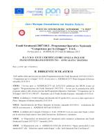 Bando Ente Certificatore Lingua Inglese Piano