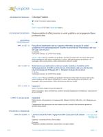 Curriculum vitae Colangeli Valeria