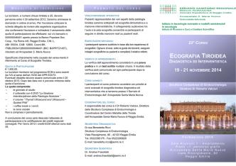 corso base - Endocrinologia Oggi