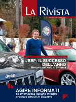 AGIRE INFORMATI - Camera di Commercio Italiana per la Svizzera