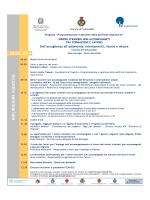 Programma seminario - Comune di Salsomaggiore Terme