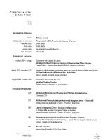 cv enrica faoro - Comune di Lamon