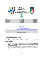 1. COMUNICAZIONI F.I.G.C.