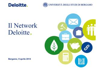 Deloitte nel Mondo - Università degli studi di Bergamo