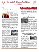 Boletín, setiembre 2014 - Ministerio de Relaciones Exteriores