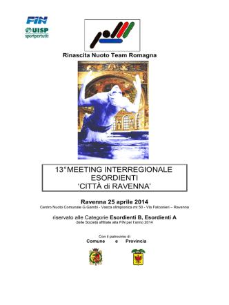 13° Meeting Città di Ravenna