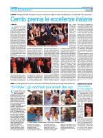 Cerrito premia le eccellenze italiane
