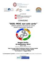 """""""SGSL-MOG non solo carta"""" 18 Settembre 2014"""