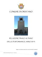 Relazione sulla performance 2013