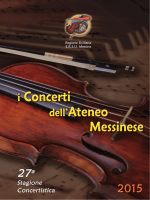 Brochure - Università degli Studi di Messina