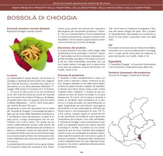 BOSSOLÀ DI CHIOGGIA - Veneto Agricoltura