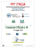 MSP ITALIA - MSP Cosenza