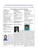 corso annuale di implantologia teorico-pratico su