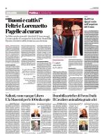 """""""Buoni e cattivi"""" Feltri e Lorenzetto Pagelle al curaro"""