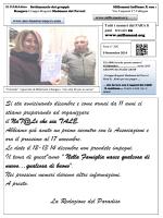 """""""Chiamati a trasformare il mondo Borgata Paradiso"""" n"""