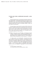 Costi da reato: alcune considerazioni processuali e