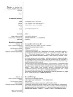Curriculum Vitae De Pietra