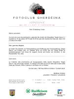 INFO (pdf, download) - Fotoclub Gherdëina