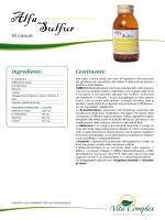 Scarica la scheda completa - Integratori Vitamine Vita Complex