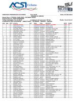 Classifica Poirino 7.6.2014