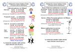 Pallavolo (palestra via Milano) Le lezioni di settembre