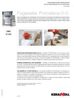 Fugabella® Porcelana 0-5