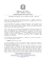 Bando 2015 - Ministero del Lavoro e delle Politiche Sociali