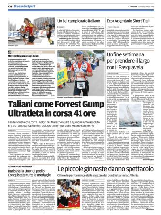 11-4-2014 Taliani grande alla Milano San Remo TIRRENo