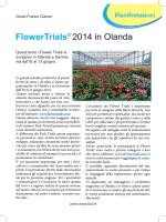 Flower Trials 2014