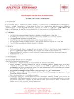 regolamento completo - Circuito serale di Orino