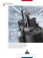 Tubi e lastre isolanti prodotti in elastomero estruso ed espanso
